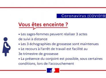 Enceinte pendant le coronavirus ?