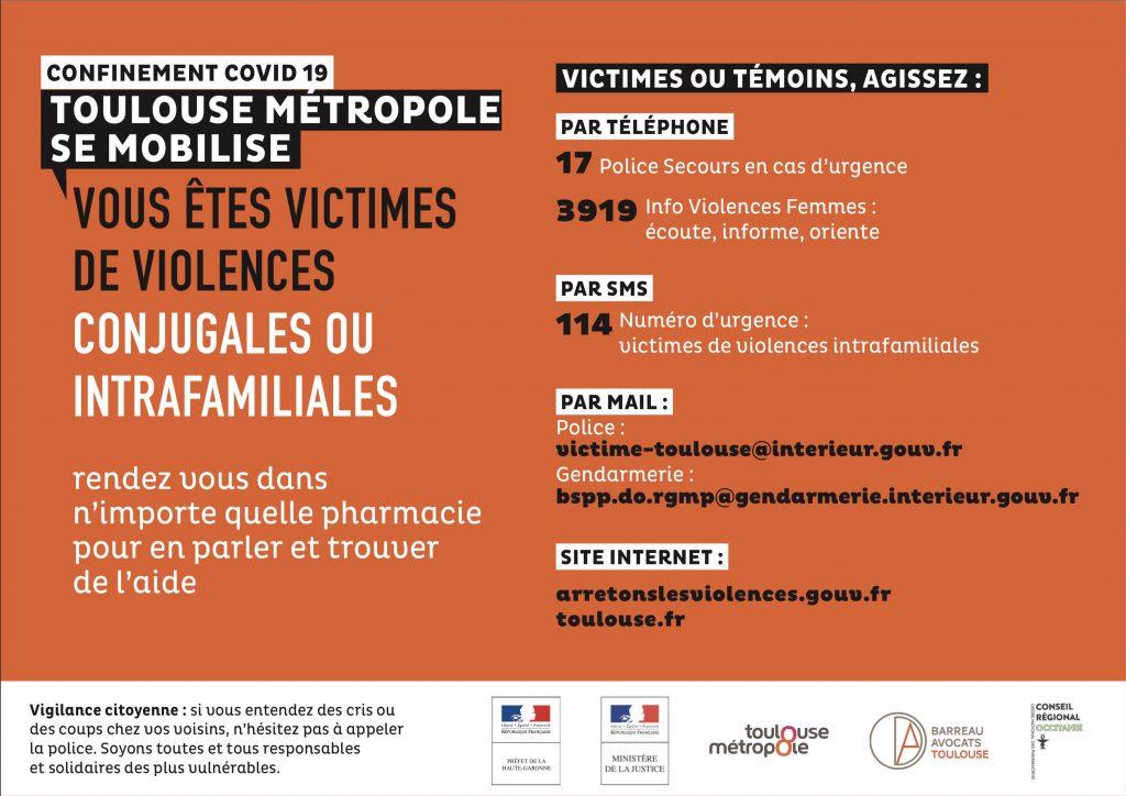 Fiche technique pour les victimes de violences conjugales en plusieurs langues