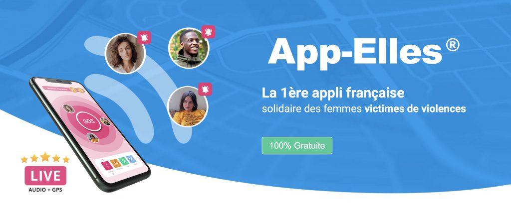 Supports de communication // application App'elles - suite visioconférence